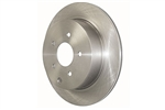 Centric/StopTech Standard Blank Rear Rotors - Honda/Acura