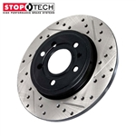 StopTech Drilled & Slotted Rear Rotors - Honda/Acura
