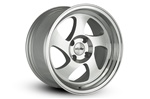 Whistler Kr1 Wheel 16X8 4X100 +20 Offset - Silver Machined Face