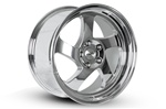 Whistler Kr1 Wheel 17X9 4X100 +25 Offset - Polished Chrome