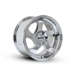 Whistler Kr1 Wheel 17X9 5X100 +25 Offset - Polished Chrome