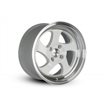 Whistler Kr1 Wheel 17X9 5X100 +25 Offset - White/ Machined Lip