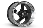 Whistler Kr1 Wheel 18X9.5 5X100 +35 Offset - Black W/ Machined Lip