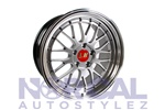 Lm Replica Wheels 5X114.3 (Front) 18X8 +38 (Rear) 18X9 +38  Hyper Black
