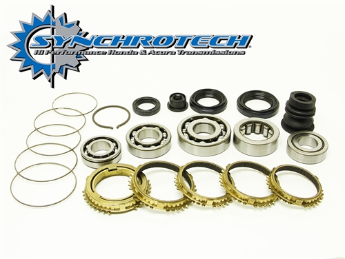 Synchrotech B-series Bearing Seal & Carbon Syncro Kit - 92-93 B16/B17  (Cable)