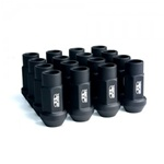 Blox Street Series Forged Lug Nuts, Flat Black :: 20-Piece Set