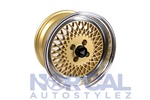 Enkei 92 Gold W Polished Lip 15X8 +25 4X100