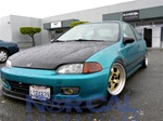 92-95 Honda Civic 2/3 Mugen Front Lip