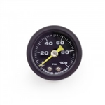 Hybrid Racing Liquid Fuel Pressure Gauge 0-100 PSI