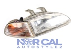 92-95 Honda Civic 2/3Dr Jdm Stanley Headlights With Corner Pair Eg6 Sir