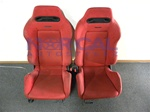 Jdm Red Srd Recaro Seats