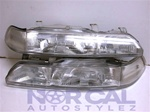 90-93 Acura Integra Jdm Stanley One Piece Headlights Pair