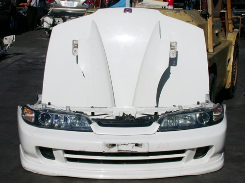 94-01 acura integra jdm typer r front end conversion with lip