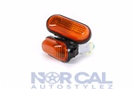 Jdm Style Side Marker Lights 92-95 Civic 94-01 Integra