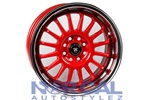 Konig Retracks15X7.5 4X100 Red