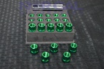 Open End Muteki Tuner Style Lug Nuts Green
