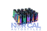 Z Racing Lug Nuts Closed End Extended Neo Chrome