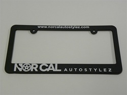 Nor Cal Auto Stylez License Plate Frame