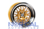Stance Mindset 15X8 +25 4X100 Gold Free Lug Nuts Included
