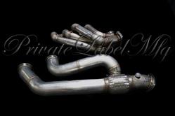 Private Label MFG Power Driven T3 sidewinder turbo maniold (K-Series)