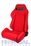 Red With Red Stitching  Jdm Type R Style Racing Seat