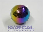 Neo Chrome Spherical Shift Knob 10X1.5 Weighted