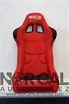 Sparco Evo2 Plus Style Red FRP Seat