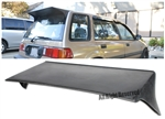 88-91 Honda Civic Wagon 5Dr Ef J'S Racing Rear Roof Spoiler Wing