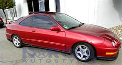 ACURA INTEGRA DR OPTIONAL TYPE R STYLE SIDE SKIRT - Acura integra type r side skirts