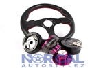92-00 Honda Civic & Acura 94-01 Integra Nrg Quick Release Steering Wheel Combo Package