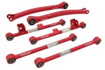 Truhart 97-07 Impreza/Wrx Trailing Arms, Lateral Arms Rear Front, Lateral Arms Rear Rear Combo Kit