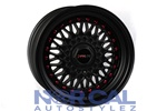 Traklight Crosstrads Wheels Flat Black15X8 +15  Universal 4X100 & 4X114.3