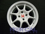 96 Jdm Itr Replica Wheels 15X6.5 +42 4X100 White