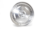 Wheel Supreme Ds-14 15X8 +25 Offset 4X100 Gloss Silver W/ Machined Face + Lip