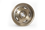 Wheel Supreme Ds-14 16X8 +25 Offset 4X100 Full Gloss + Full Machined Bronze (Chrome Rivets)