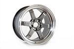 Wheel Supreme Ds-16 17X9 +30 Offset 5X114.3 Hyper Black + Mc Lip