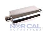 Es Tuning Style Muffler - Polished