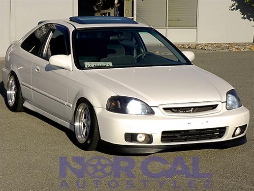 Honda Civic Ek Hatchback >> 99-00 Honda Civic Type R Style Front Lip